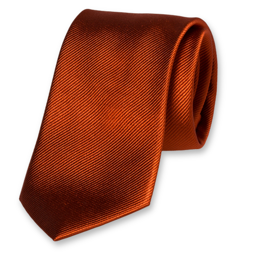 clip transparent Silk rusty tie