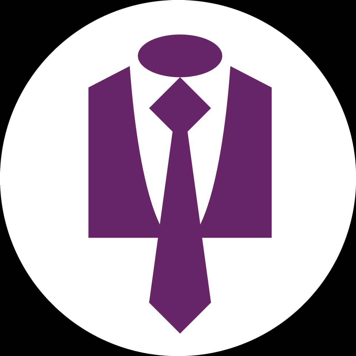 graphic black and white Suit Necktie Clip art