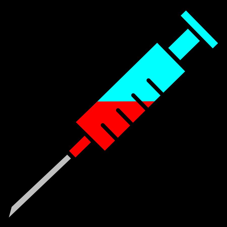 vector royalty free stock Needle clipart. Syringe cilpart strikingly idea