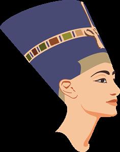 transparent download queen Nefertiti Logo Vector