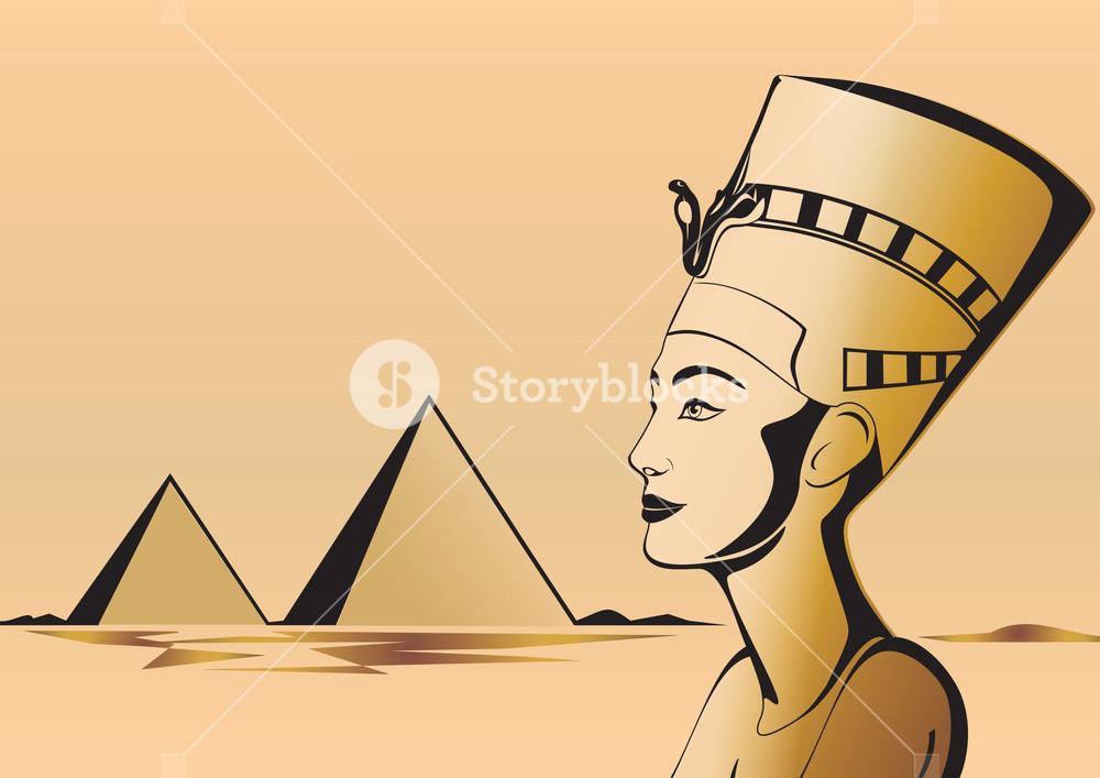 image freeuse download Nefertiti Egyptian Theme Royalty