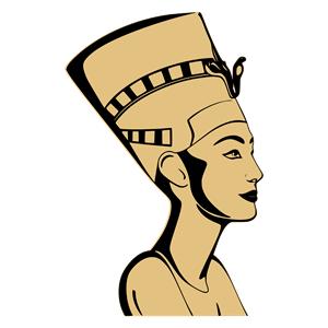 clipart Nefertiti Bust clipart