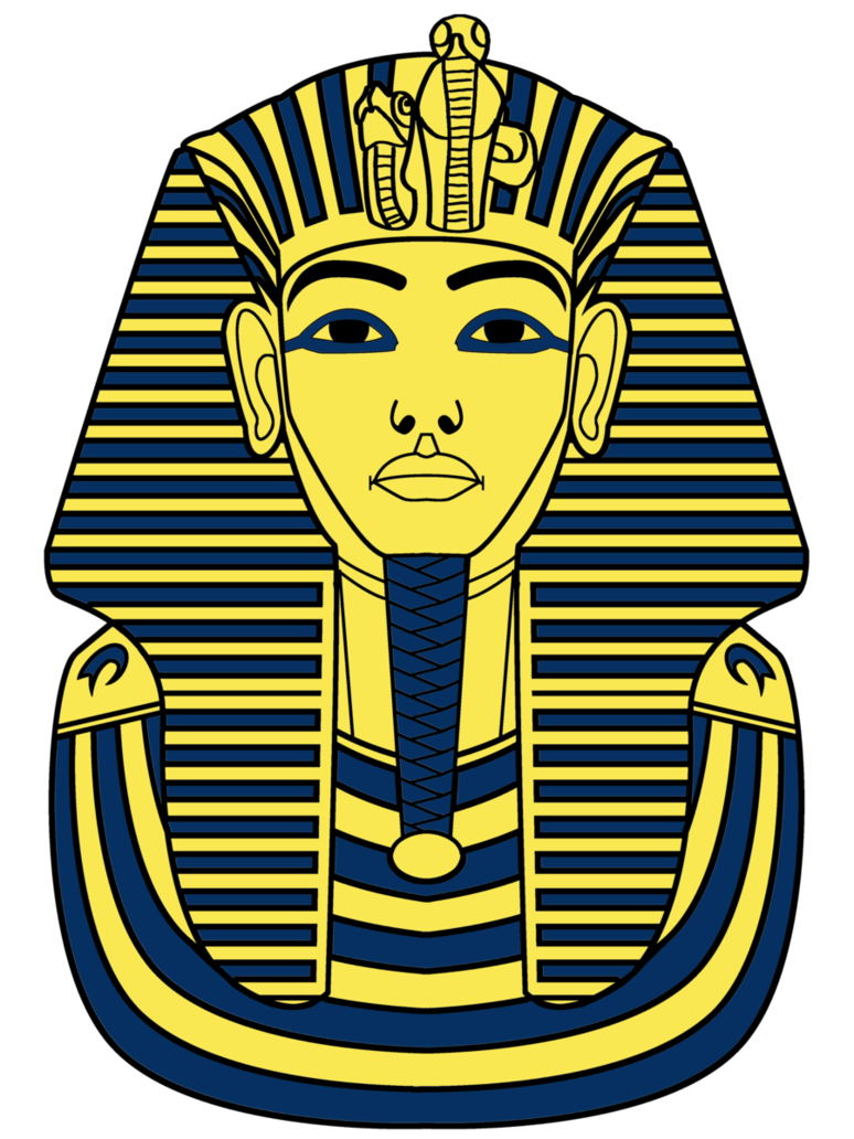 clip art transparent library Tutankhamun illustration