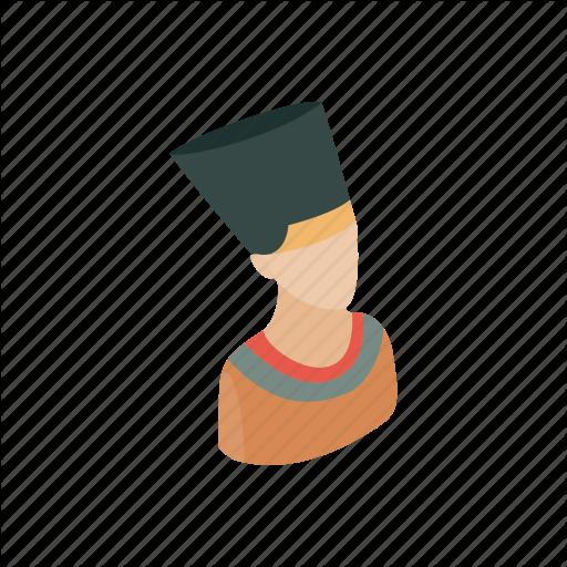 graphic royalty free nefertiti vector icon #100262904