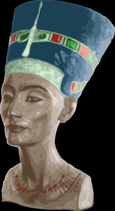 clip royalty free stock Nefertiti Egyptian Queen
