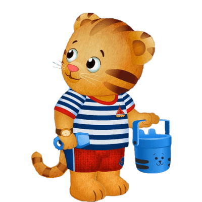 image black and white download Daniel Tiger Clipart at GetDrawings