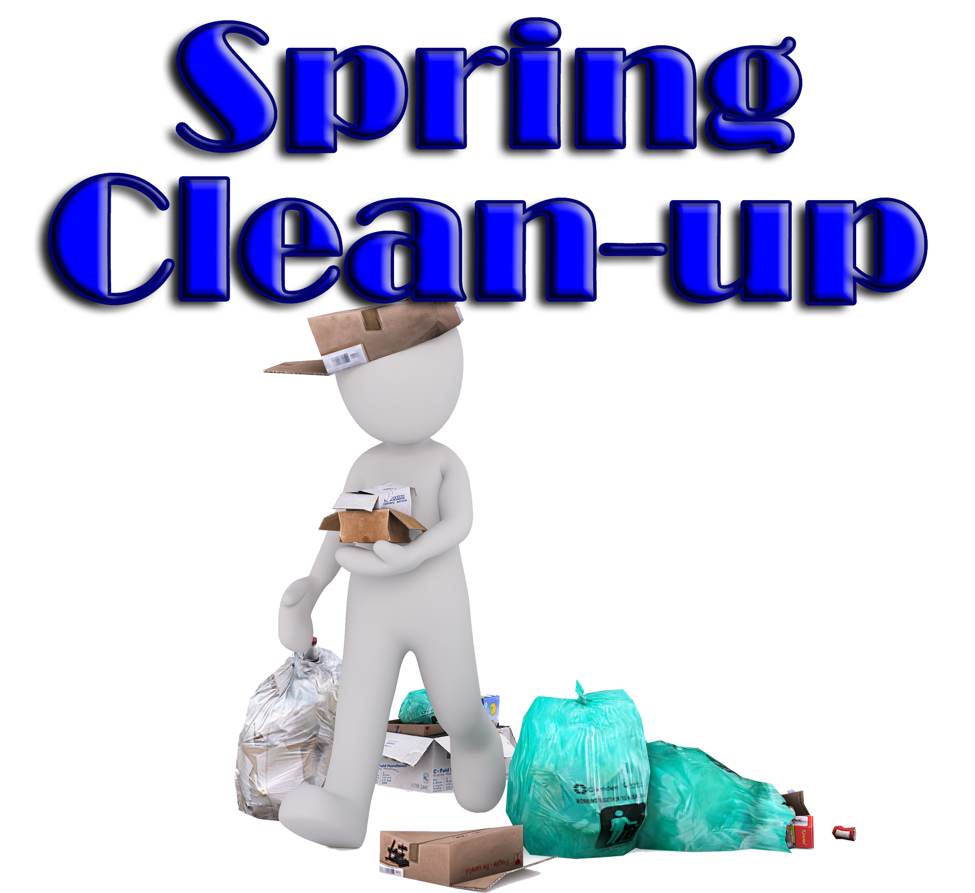 png black and white library Neighborhood clipart neighborhood cleanup. Spring clean up day.