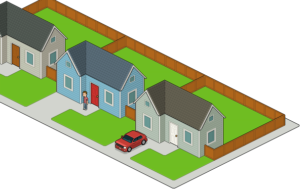jpg royalty free library How to Create an Isometric Pixel Art Neighborhood Block in Adobe