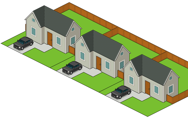 graphic freeuse library How to Create an Isometric Pixel Art Neighborhood Block in Adobe