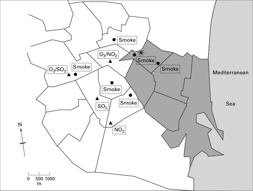 svg library Map of municipal districts of Valencia