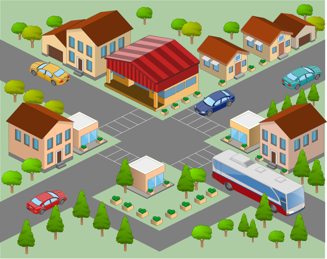 jpg library stock Neighbors clipart neighborhood street. Free cliparts download clip