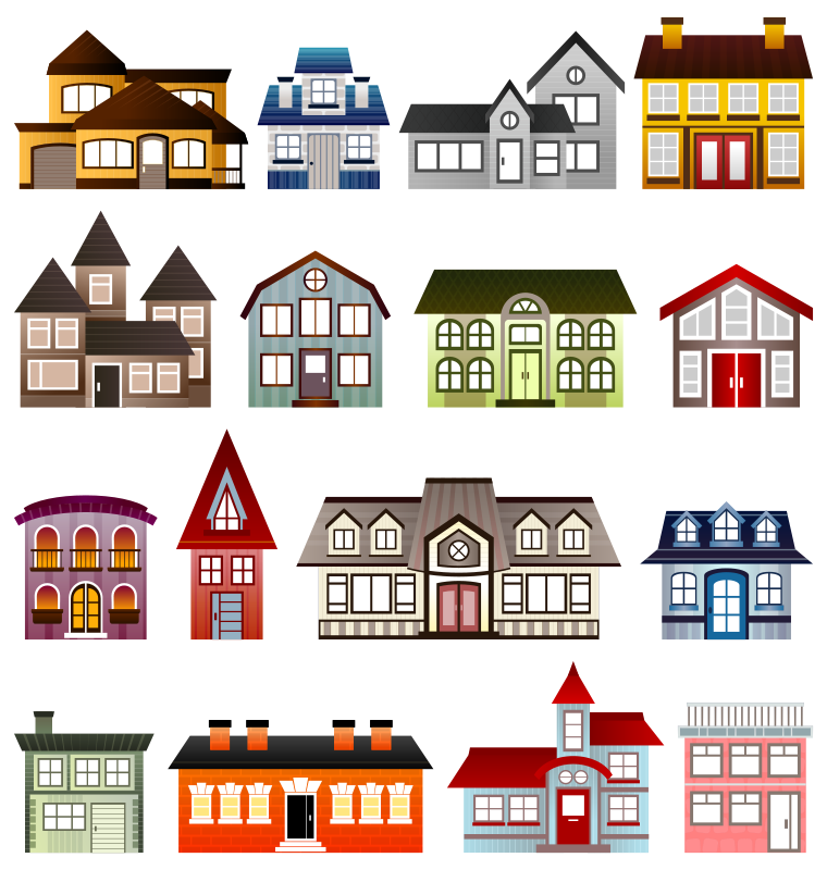 black and white download Neighbors clipart two house. September lorie schaefer this.