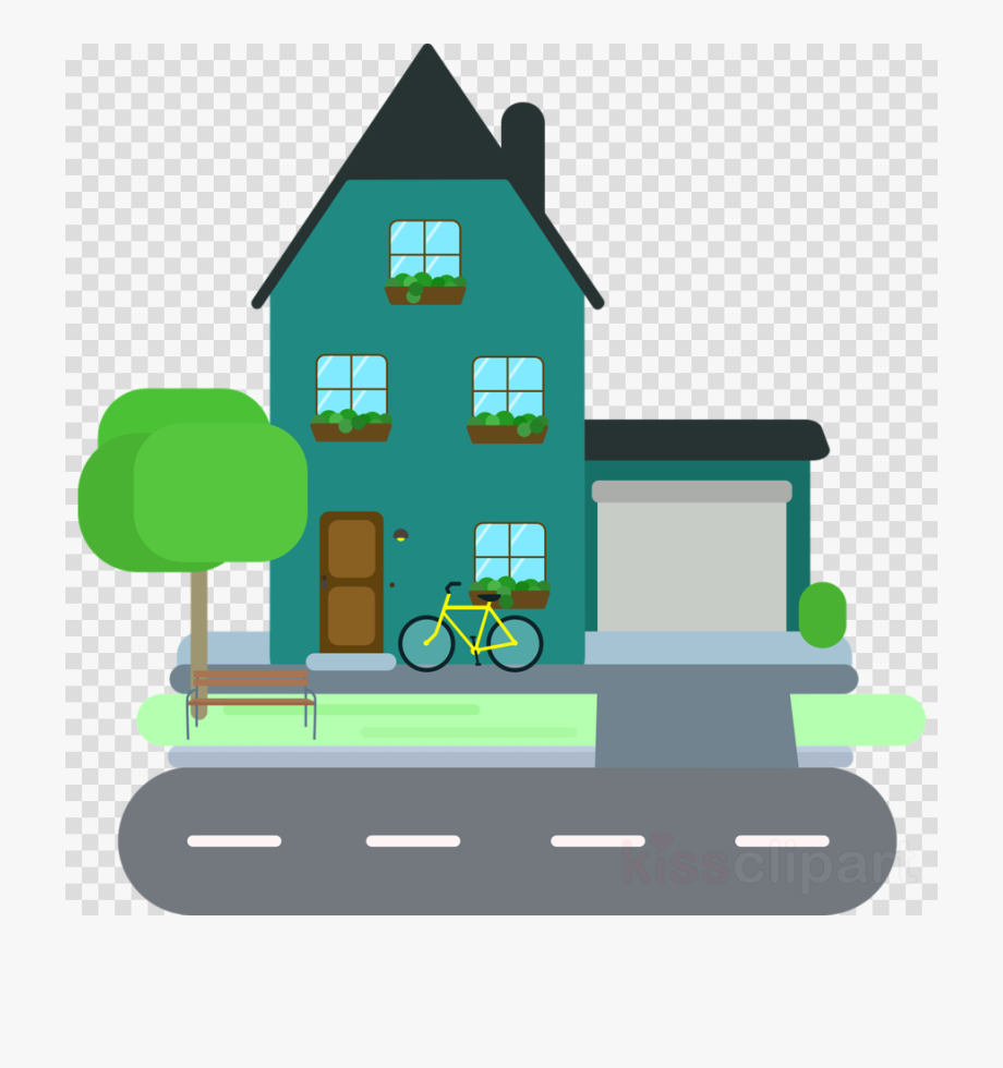 picture free stock Neighbors clipart two house. Home family houses .