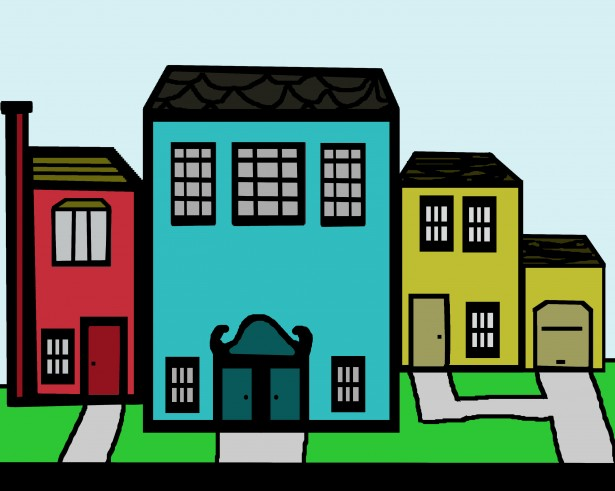 image download Neighbors clipart two house. Free street cliparts download.