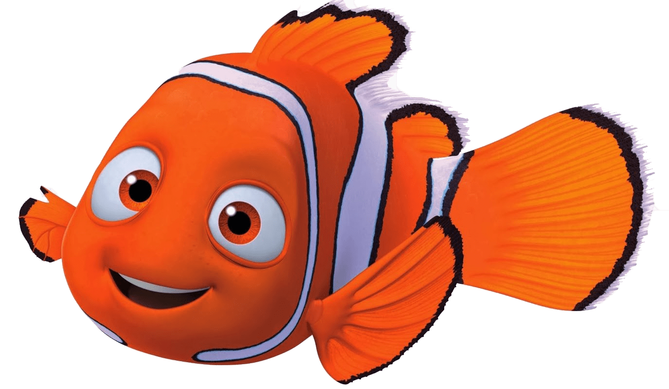 black and white library Nemo Close Up transparent PNG