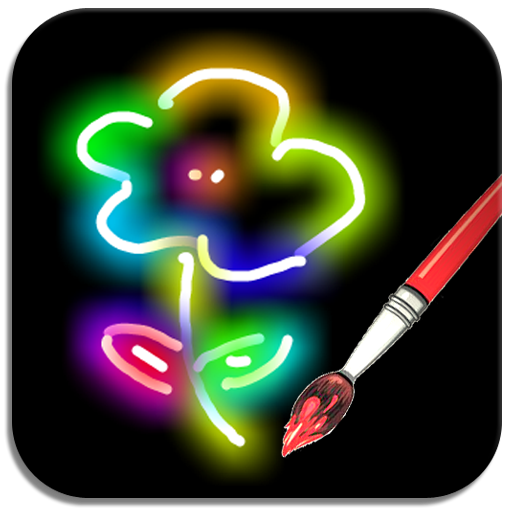 graphic black and white stock Paint joy movie your. Neon drawing