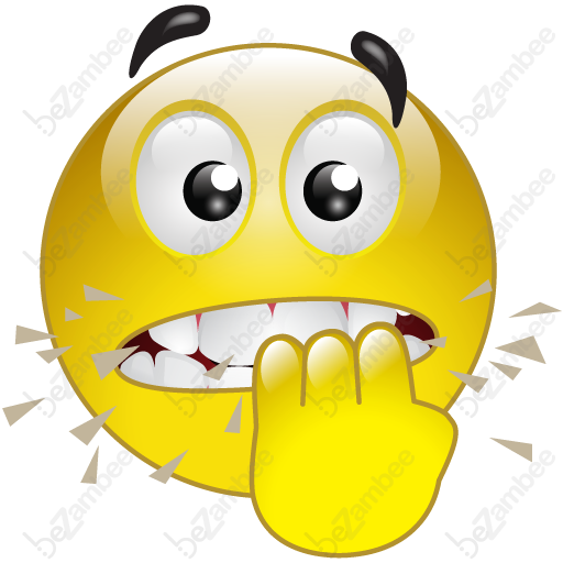 graphic freeuse library Nervous clipart.  collection of face