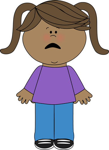 clip art free Scared kids clipart. Fear nervous woman pencil