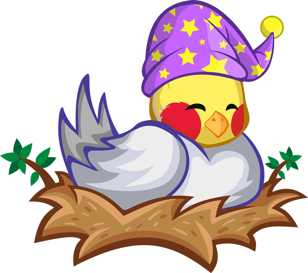 clipart black and white stock Nest clipart. Yellow bird free on.