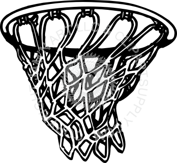 jpg library Basketball Hoop and Net