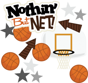 clip transparent stock Nothin but game basketball. Net clipart svg.