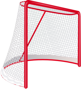 image black and white Hockey Goal Clip Art at Clker