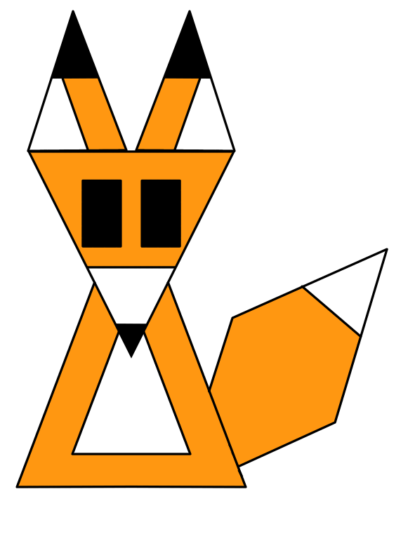 picture Polygonal Fox by Derpmaster