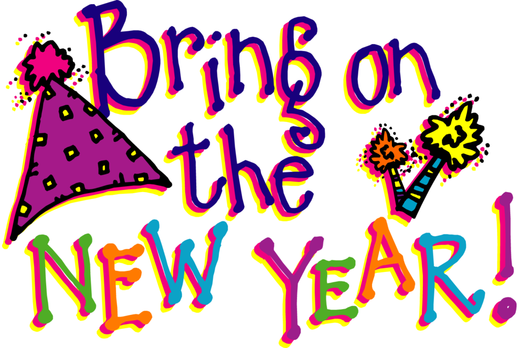 image black and white stock Year clipart new year's day. Free years at getdrawings