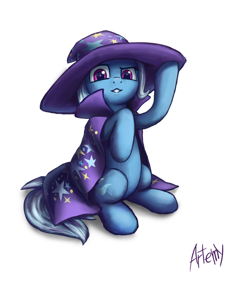 svg free library The great and powerful Trixie