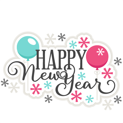image transparent download Free happy new year clipart. Title scrapbook cut file