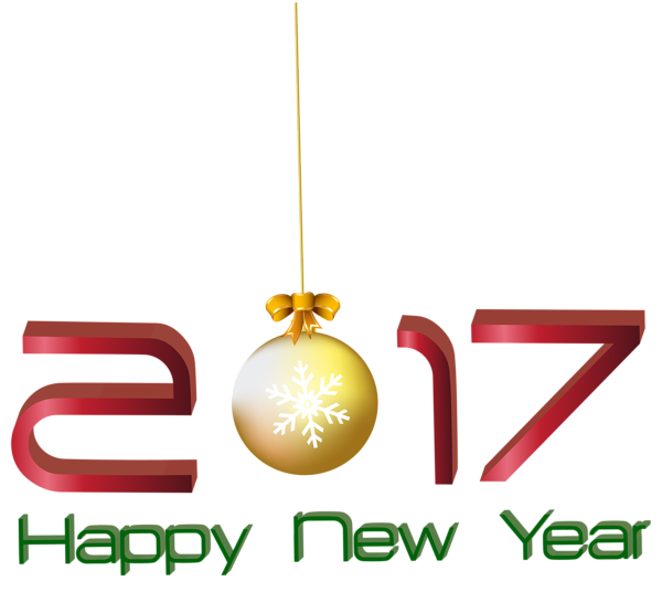 jpg transparent new years 2017 clipart #56440500