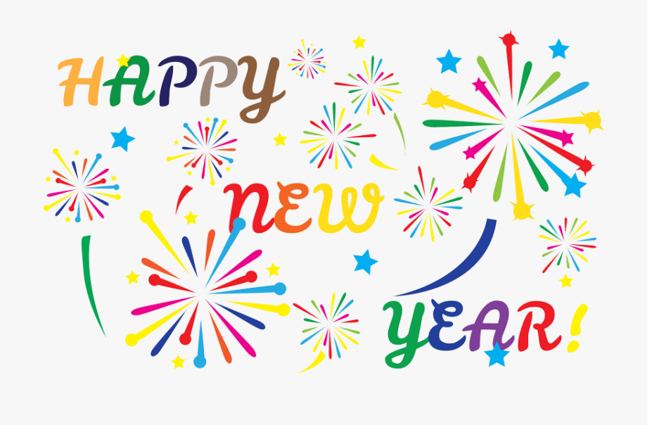 image Graphic transparent library fireworks. Years clipart new year