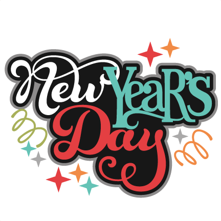 svg royalty free download New Years Day Clipart