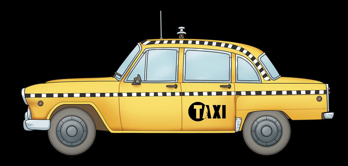 svg transparent new york taxi clipart #66164416