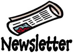 clipart black and white library Newsletter clipart. Free cliparts download clip.