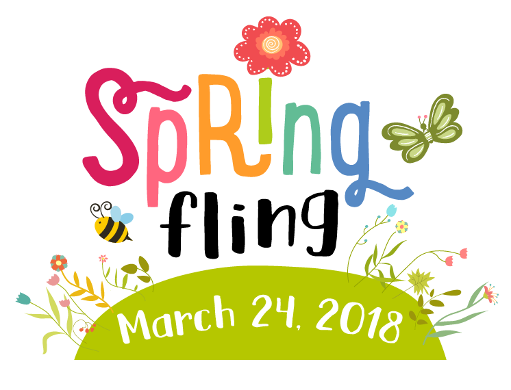 black and white stock Springfling auction montessori de. January newsletter clipart.