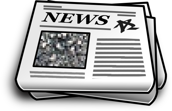freeuse Clip art at clker. Newspaper clipart