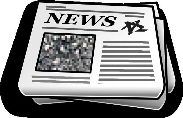 svg freeuse stock Newspaper Clip Art at Clker