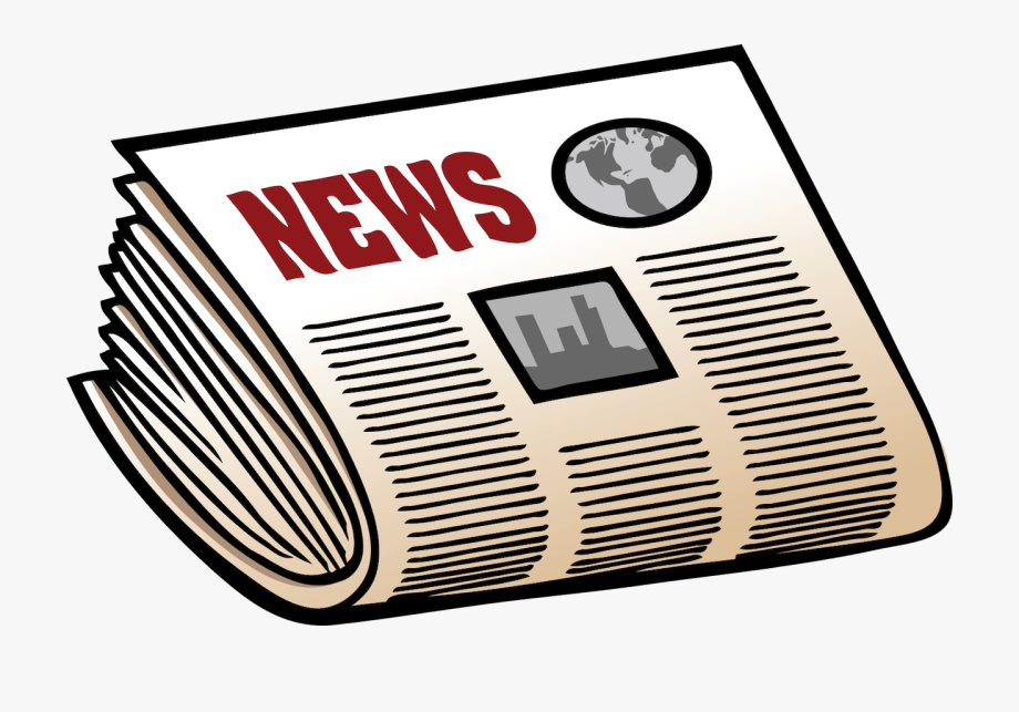 svg royalty free download Newspaper clipart. Png free .
