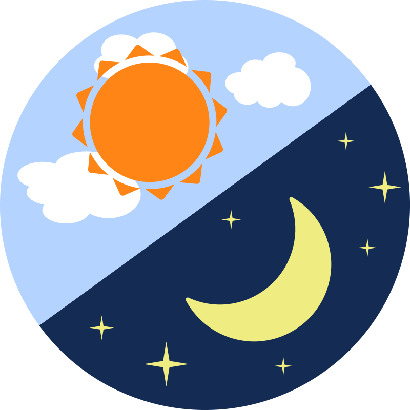 svg library download Day and transparentpng. Night clipart.
