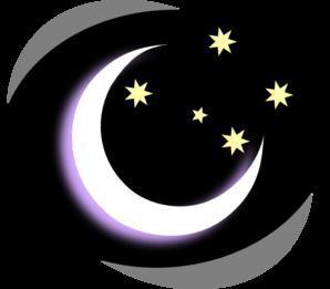 svg stock Night clipart. Moon .