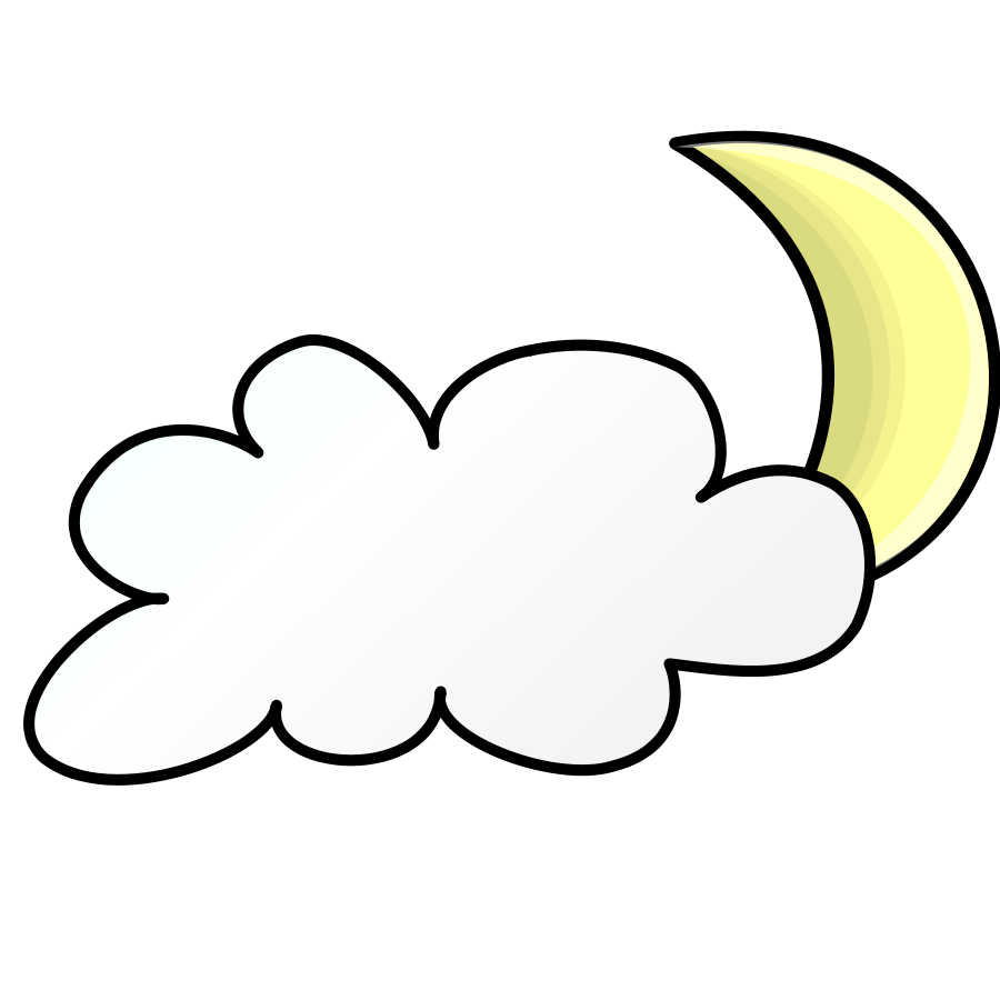 svg transparent library Cloud free on dumielauxepices. Night clipart.