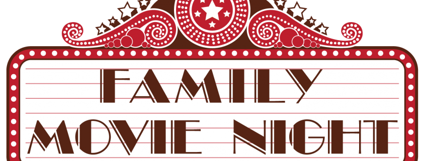 royalty free download Family Movie Night