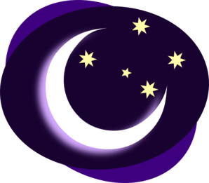 vector freeuse stock . Night clipart