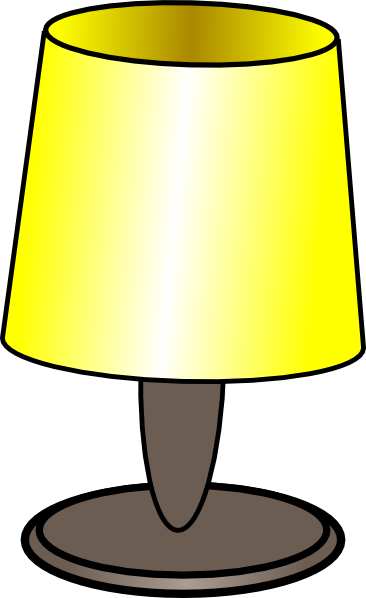 picture transparent stock Sheikh Tuhin Table Lamp Clip Art at Clker