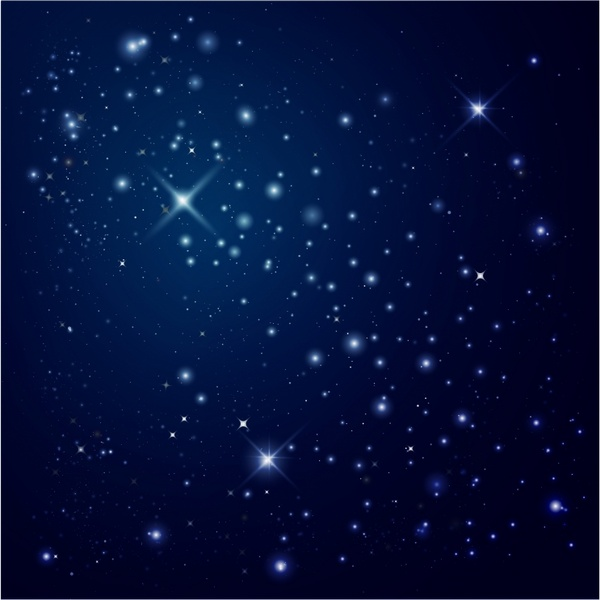 jpg freeuse stock Night sky free in. Universe vector starry