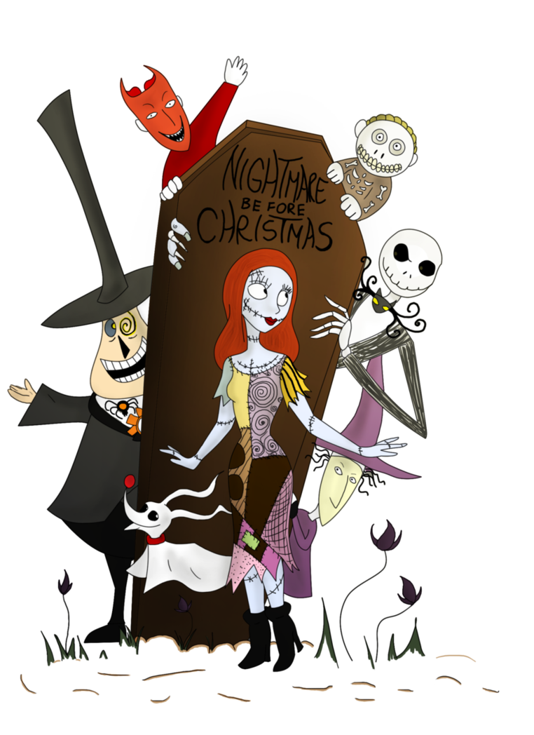 svg transparent download  collection of christmas. Nightmare before clipart.