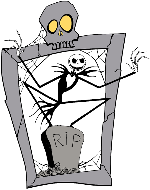 black and white download Nightmare before clipart before christmas. The clip art disney.