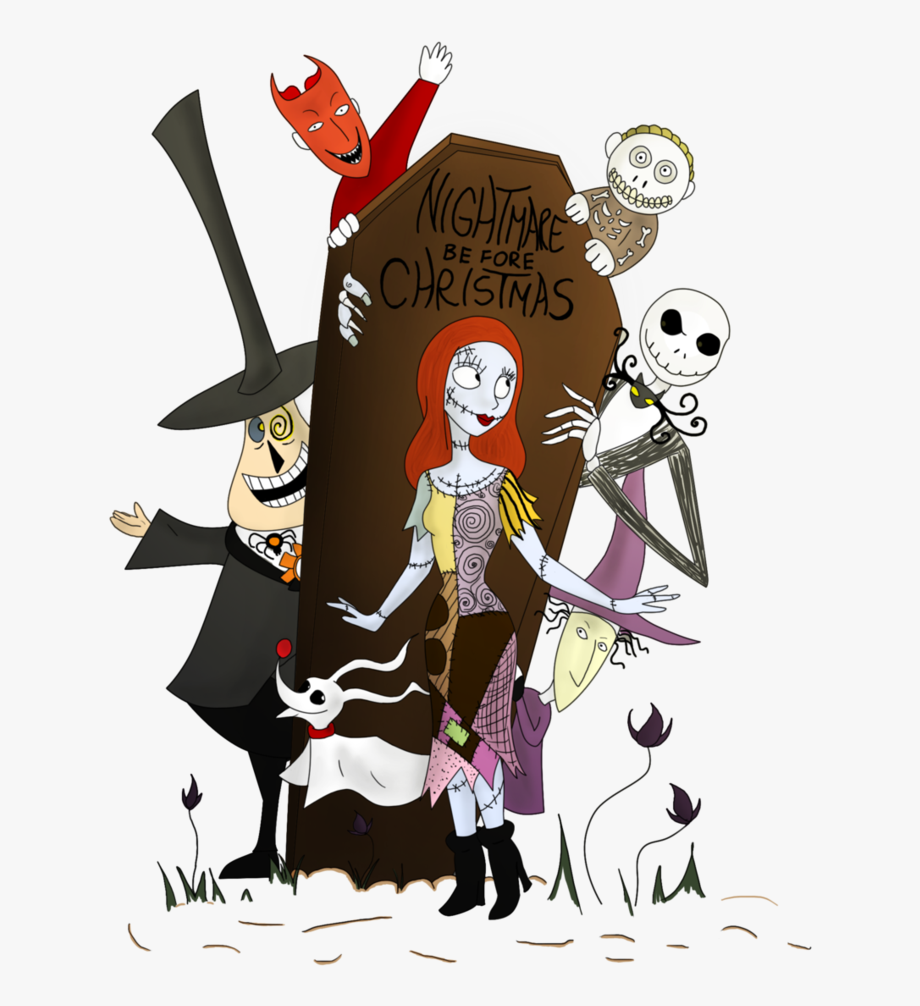 black and white download . Nightmare before clipart before christmas.