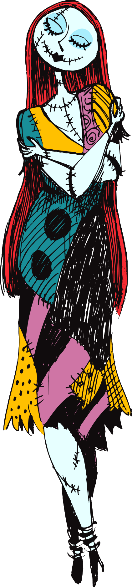 download Nightmare before clipart before christmas. Sally clipartxtras art of.